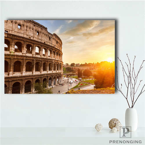 Custom roman forum (2)@ Printing Posters Cloth Fabric Wall Art Pictures For Living Room Decor#18-12-05-2-129 image
