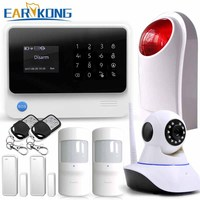Netherlands French Russian Spanish English 2016 Hot G90B WiFi GSM GPRS Wireless Intruder Burglar Alarm System