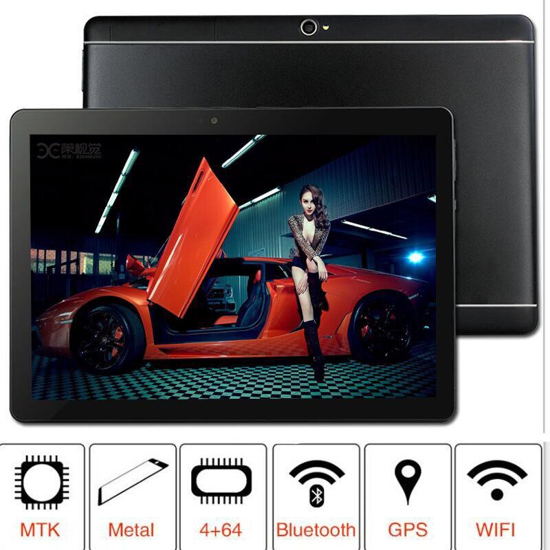 Новый 2019 MT8752 S109 64 ГБ Встроенная память 10,1 'Планшеты Android 8,0 8 Octa Core двойной камера 8MP планшет с двумя sim-картами PC gps bluetooth телефон