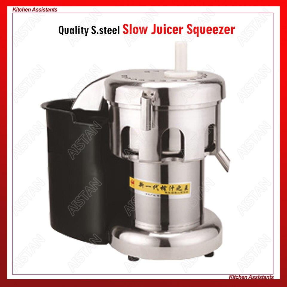 WF-A3000/B3000 extrator juicer Lento Elétrica Profissional uso para orange espremedor de frutas aço inoxidável mesa comercial