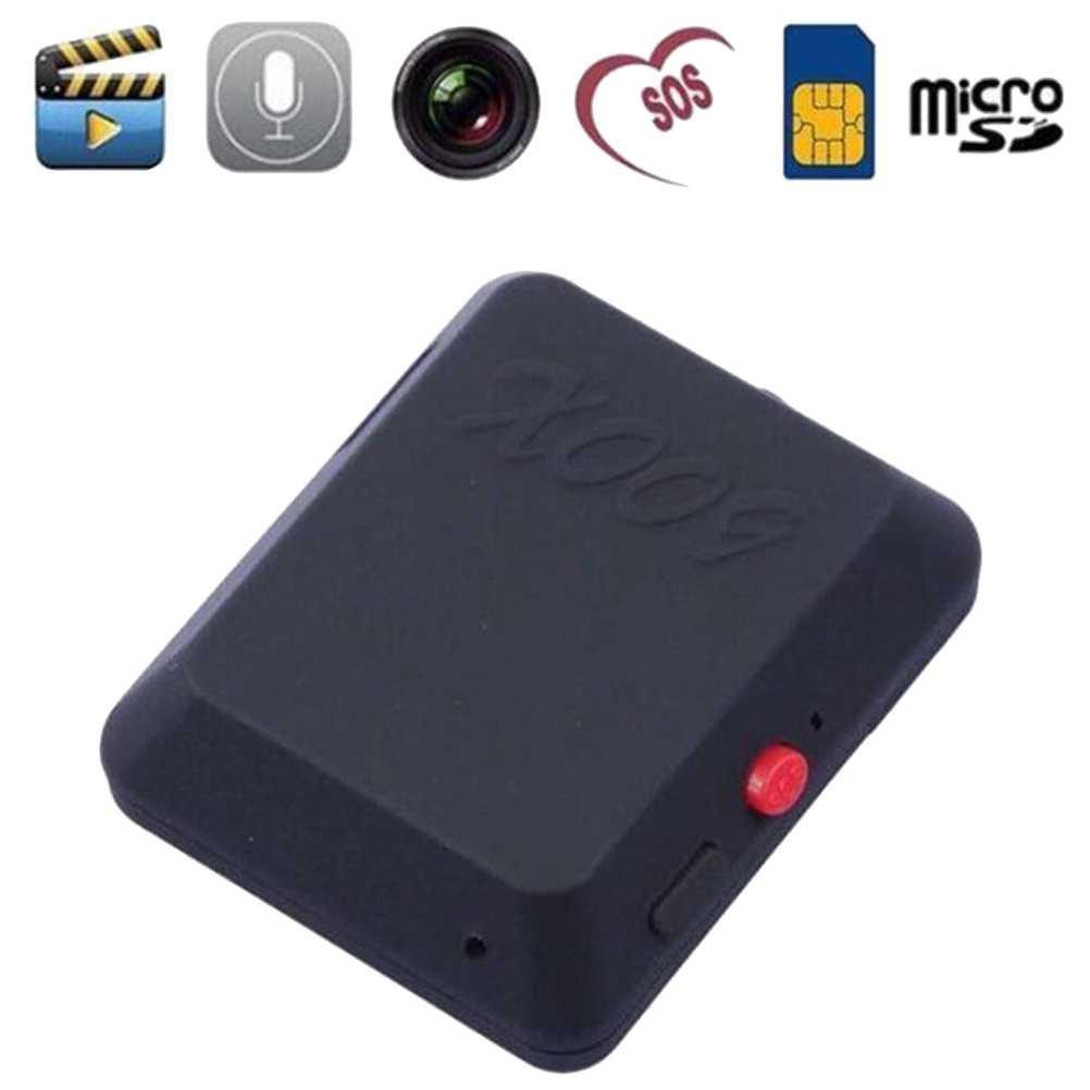 Mini GPS Tracker GSM Phone Bug Device SIM Car Kids Pet Smart Anti-Lost Tracking Alarm Device Video Recorder Tracker image