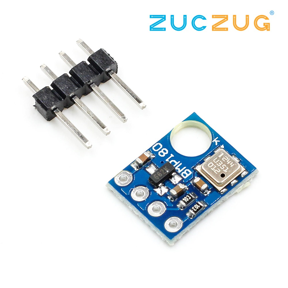 GY-68 BMP180 GY68 Replace BMP085 Digital Barometric Pressure Sensor Board Module I2C Interface 1.8V 3.6V 3.5MHZ