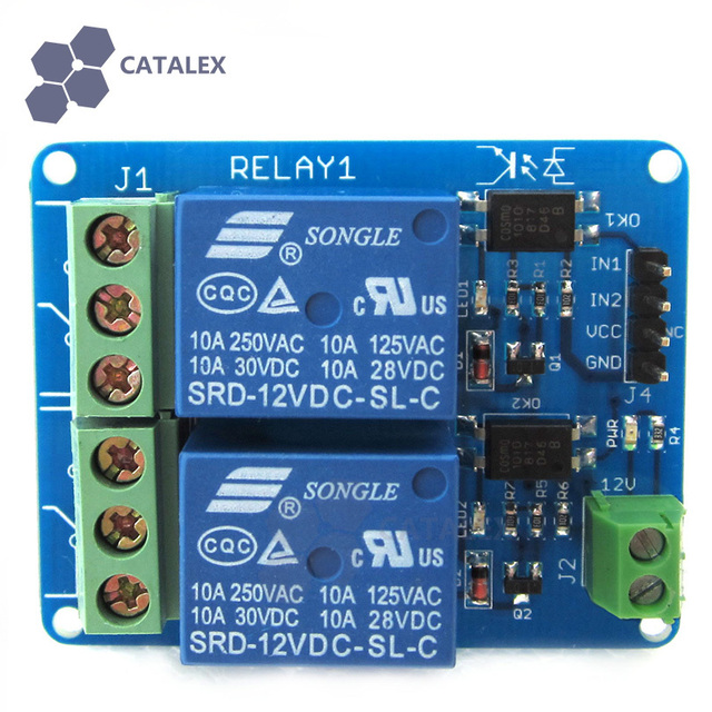 high current 12v 2 channel dual relay module with real optocoupler rh aliexpress com Current Sensing Relay 8-channel 30a high current usb relay module