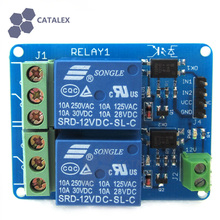 High Current 12V 2 Channel Dual Relay Module with Real Optocoupler Isolation For Arduino / RPi / AVR / ARM / PIC