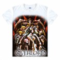 New Overlord T-shirt Japan Anime cosplay Pride Envy T shirt Fashion Cotton Summer Hot Tees