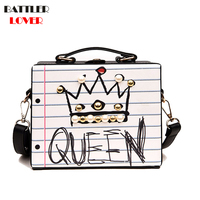 d9925bd4c New Arrival Letter Diamonds Pearl Rivet Box Shape Womens Casual Female  Handbag Party Purse Ladies Mujer