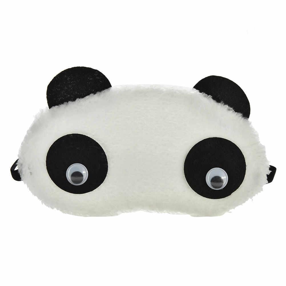 1 шт. Милая маска глаза панды тени милый отдых в путешествии маска для сна маска-козырек для глаз повязка для глаз