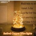 Venda quente (2 Conjunto) 3 M/30 LEDs Luzes De Fio De Cobre Luzes Cordas para Festival de Natal Luz Festa de Casamento e Casa Decoração Da Lâmpada