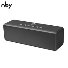 NBY 5520 Portable Bluetooth Speaker Subwoofer Speakers Wireless Speakers Sound System 3D Stereo Music Surround with Mic TF Card(China)