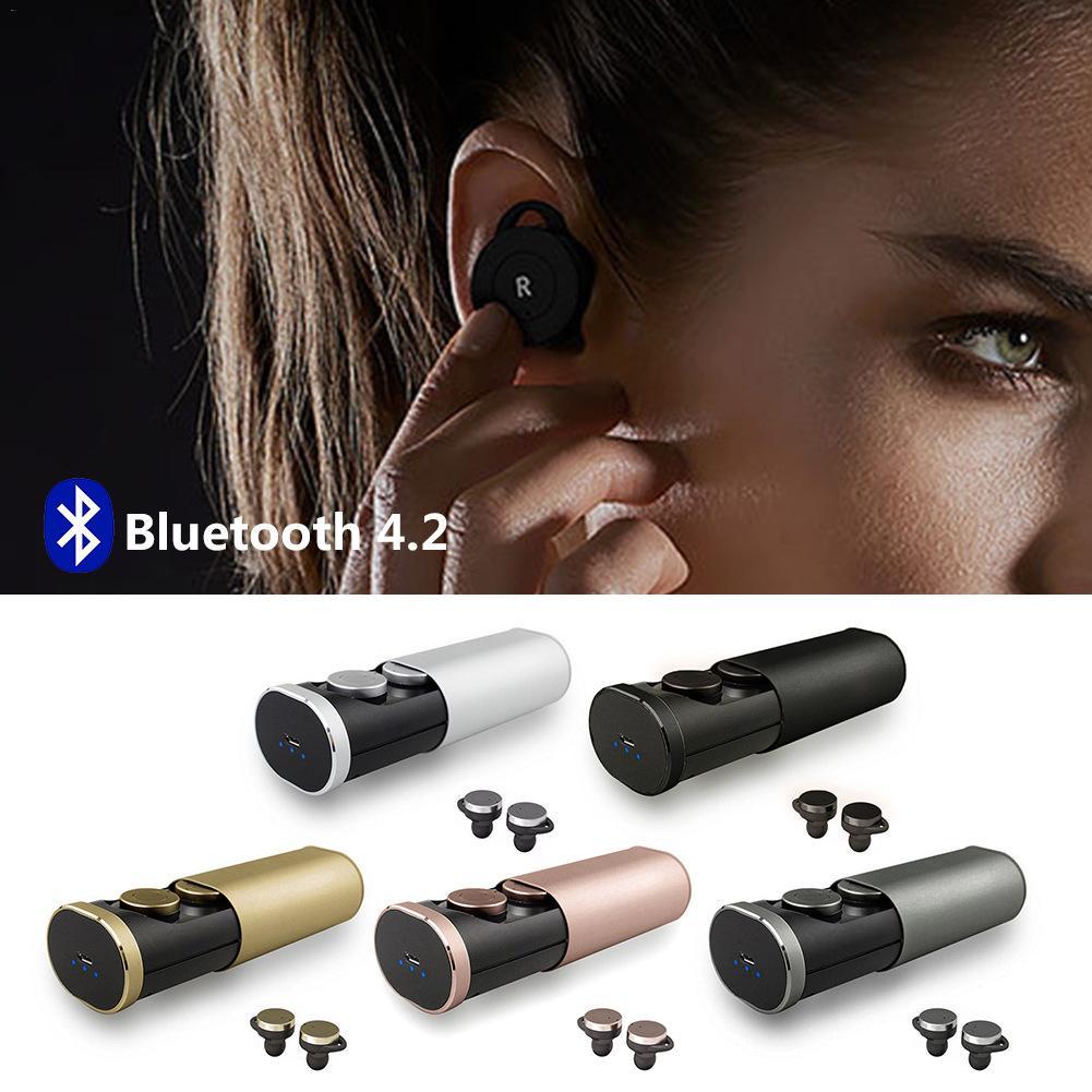 TWS B1 Casque Sans Fil Vrai bluetooth sans fil 4.1 Écouteurs avec Prise De Charge Mini Stéréo Écouteur auriculares inalambrico