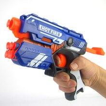 Soft Bullet Toy Gun Sniper Rifle Plastic Gun Manual Operated Air Soft Gun Airgun Paintball Gun
