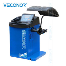 V960 Automatic Car Wheel Balancer with LCD Display Auto Data Input Digital Wheel Balancer 36mm shaft special wheel balancer adaptor for c elysee cones