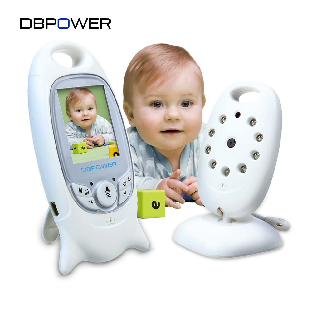 dbpower vb601 video baby monitors wireless with 2 inches lcd screen 2. Black Bedroom Furniture Sets. Home Design Ideas