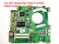 For HP 786430-501 Laptop Motherboard DAY11AMB6E0 With I7-4510U CPU 840M 2GB DAY11AMB6E0 100% Tested