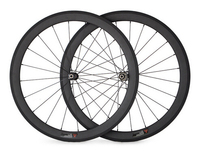 cheap price width 25mm chinese oem sticker carbon tubular bike straight pull wheel road bicycle wheelset for sale