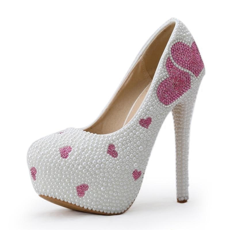 11cm Púrpura Cristal Heel Amor Perla Para De Alto 14cm Tacón Novia Vestido Foto Heel Regalos Zapatos Adultos Nueva Boda Noche La qTgWw1