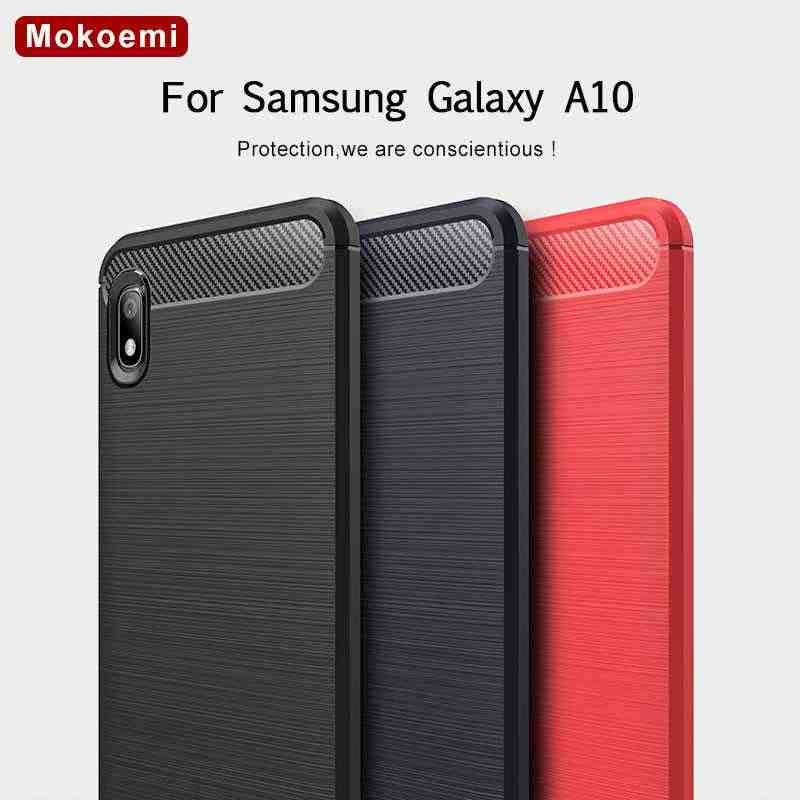 "Mokoemi Fashion Shock Proof Soft Silicone 6.2""For Samsung Galaxy A10 Case For Samsung Galaxy A10 Cell Phone Case Cover"