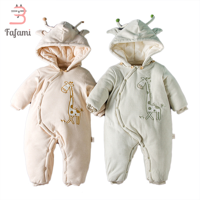 Baby Rompers Winter New year costumes for boys girl Newborn Baby Clothes Organic cotton clothing lucky child romper jumpsuit new arrival boy costumes rompers cotton newborn infant baby boys romper jumpsuit sunsuit clothes outfits