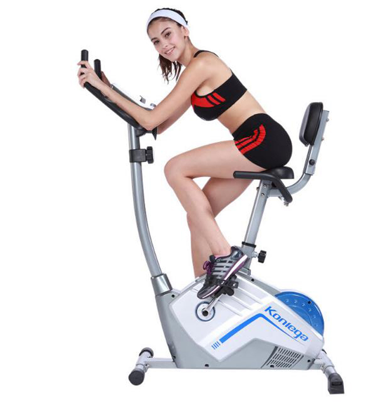 Indoor foldable upright low noise spinning indoor cycling bike can adjustment LCD adjustable cushion 210917