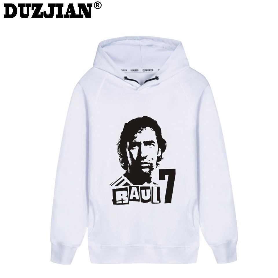 DUZJIAN Spring mens Raul Gonzalez Blanco print Hoodies pokemon sweatshirt assasins creede hoodie west coast choppers hoodie