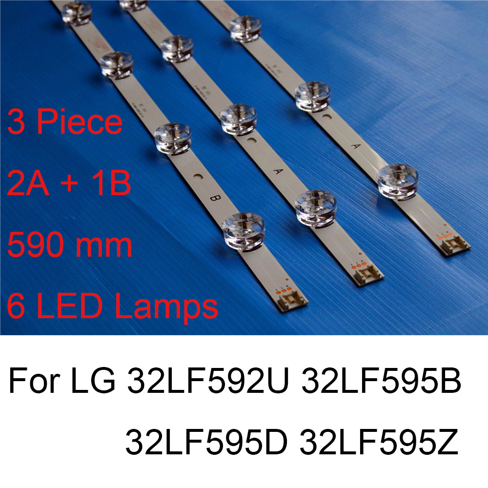 Brand New LED Backlight Strip For LG 32LF592U 32LF595B 32LF595D 32LF595Z TV Repair LED Backlight Strips Bars A B TYPE Original