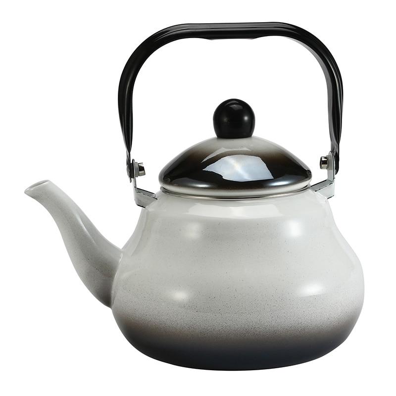 1.5L 2.0L 2.5L Emaille Water Pot Koffie Thee Pot Chinese Traditionele Creatieve Wsater Ketel voor Thuis Keuken-in Waterkokers van Huis & Tuin op  Groep 1
