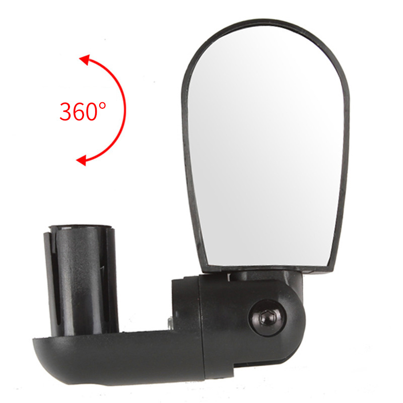 Bicycle Rearview Mirror Mountain Bike Handlebar Wide Angle Back Eye 360 Degrees Adjustable Safety Bike Rear View Mirrors RR7202