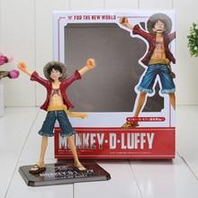16cm 6.3″ Japanese Anime Cartoon One Piece New World Luffy Sir Crocodile Action Figures PVC Toys Doll Model Collection