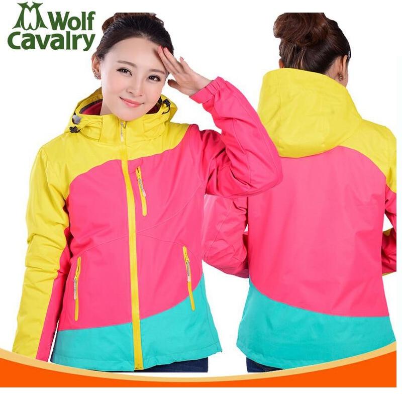 Jackets for women outdoor Sports coats Fleece liner waterproof Women's winter jacket hiking camping Women's ski suit