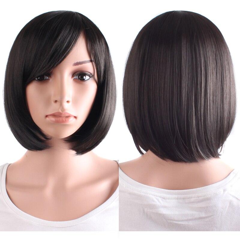 горячие продажи синтетических волос клен/черный/коричневый боб