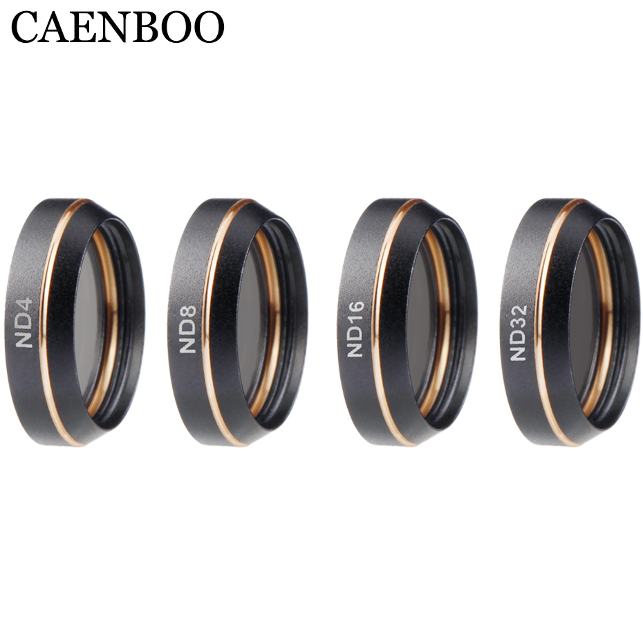 CAENBOO Drone Filters For DJI Mavic Air ND4 8 16 32 Polar Polarizing Filter Set For DJI Mavic Air Camera Protector Accessories