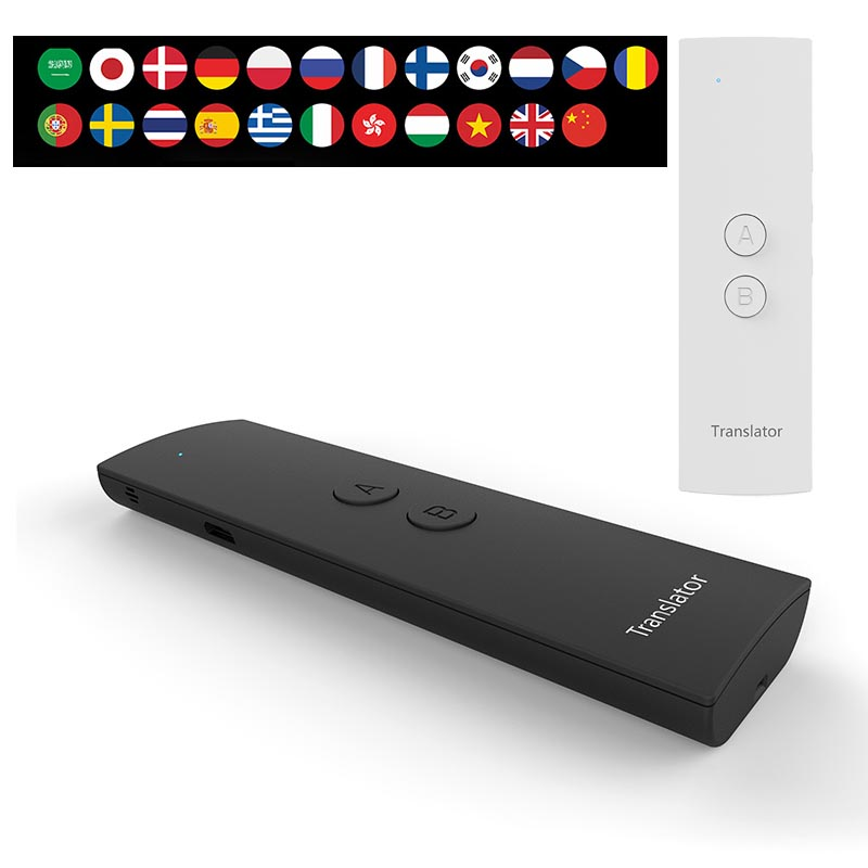 41 Multi Language Portable Smart APP Translator Two Way Real Time Translation For Learning Travelling Business