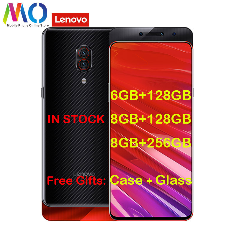 "Lenovo Z5 Pro GT 855 Version Smart Phone 8GB 256GB Snapdragon 855 ZUI 10 Android P 6.39"" Super AMOLED Screen FingerPrint Face ID"