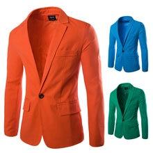 Мужские классические льняные барные куртки деловые повседневные