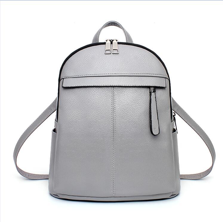 Women Backpack High Quality PU Leather School Bags Teenager Girls Pink Fashion Travel Bag Mochila ladies