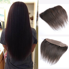 Brazilian Straight Lace Frontal Closure 1 pc Straight Human Hair Extensions 13×4 Straight Brazilian Hair Lace Frontal Weave