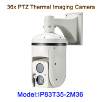 36x HD IP Visible Long Distance 3km ptz thermal imaging camera for forest fire protection Border coastal defense airport