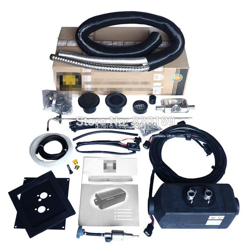 (Télécommande + 2KW 12 V) Webasto air chauffage de stationnement pour camion, bateau, caravane, Rv et voiture essence. Remplacez Webasto at2000 Eberspaecher d2!