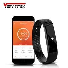 Smart Wristband Heart Rate Monitor Bluetooth Sport Bracelet Band Pedometer Fitness Tracker pk fitbits ID115 HR Mi 2 P1 Smartband