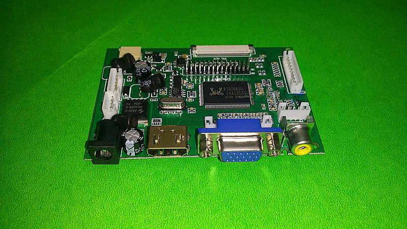 """Для INNOLUX 7,0 """"дюймов Raspberry Pi ЖК-дисплей Экран дисплея TFT ЖК-дисплей монитор AT070TN90 + комплект HDMI, VGA Вход драйвер платы Бесплатная доставка"""