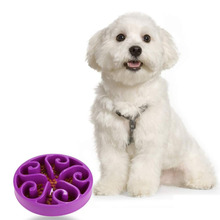 Anti Choke Bowl Slow Eating Pet Healthy Prevent Choking Gluttony Obesity Puzzle Feeder Dogs & Cats Feeding and Watering