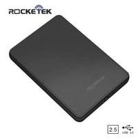 Rocketek HDD Case 2.5 inch SATA to USB 3.0 SSD Adapter Hard Disk Drive Box External HDD Enclosure for Notebook Desktop PC sata to usb 3.0 sata to usb external hdd enclosure -
