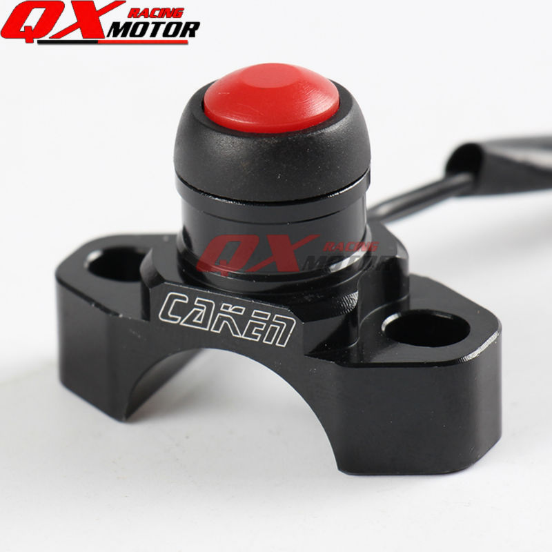 CNC Stop Button Kill Switch For CRF YZF KXF EXC Dirt Pit Bike MX Motocross Enduro Supermoto Off Road Motorcycle Free Shipping free shipping 7507 cnc aluminium gear shift shifter lever for ktm 65sx2008 motorcycle motocross enduro dirt bike off road mx