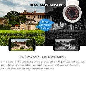 Image 2 - Câmera de vigilância residencial, hd 1080p ip externa wi fi residencial de vigilância 720p 3mp sem fio à prova dágua ip onvif câmera de camara