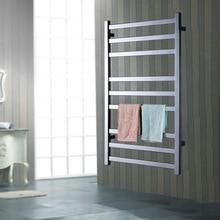 Yijin ARE HZ-918 Electric Heated Towel Rack Wall Mounted Style Towel Warmer Rails 304 Stainless Steel Towel Dryer Shelf for Bath