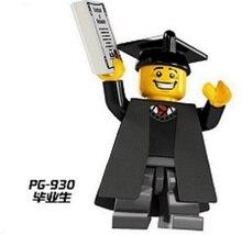 PG930 font b Building b font Blocks Avengers Limited Edition Graduates Imperial Guard Education Learning font