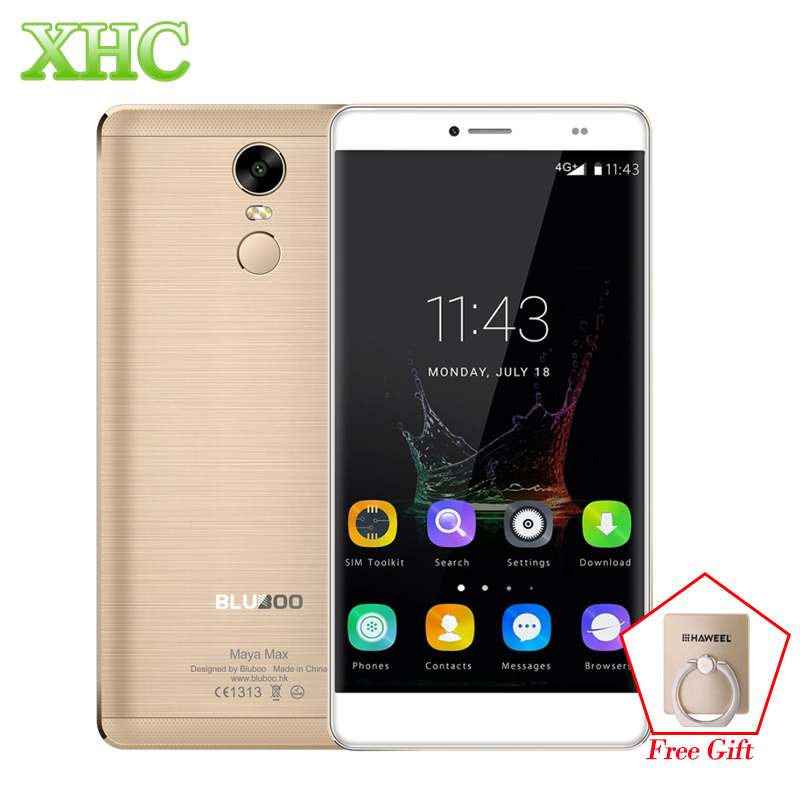 6.0 ''bluboo Майя Max смартфон LTE 4 г отпечатков пальцев ID Android 6.0 13MP mtk6750 Восьмиядерный Оперативная память 3 ГБ встроенная память 32 ГБ dual sim мобильный ...