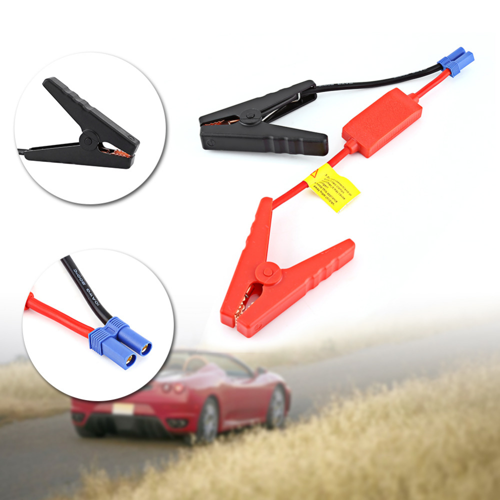 Booster Cable Auto Car Battery Connection Jump Start Prevent Reverse Charge STOG