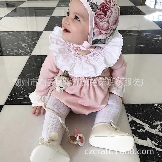 Europea y América niños niña blusa niño del bebé volantes ropa bordado ropa  de los niños 91279e2b817d