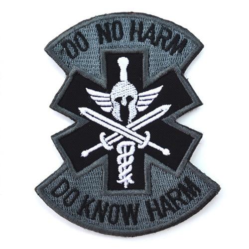 Do No Harm Spartan Acu Tactical Combat Medic Badge Morale Military